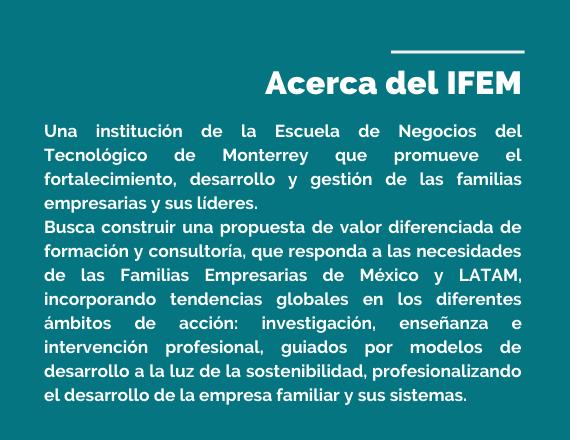 Acerca del IFEM