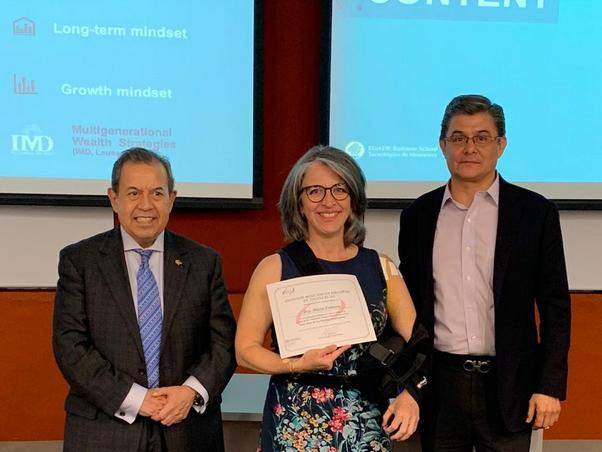 Charla a miembros del IMEF Monterrey