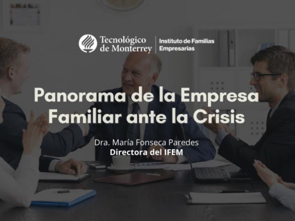 Webinar de Canintex: Panorama de la Empresa Familiar ante la Crisis.