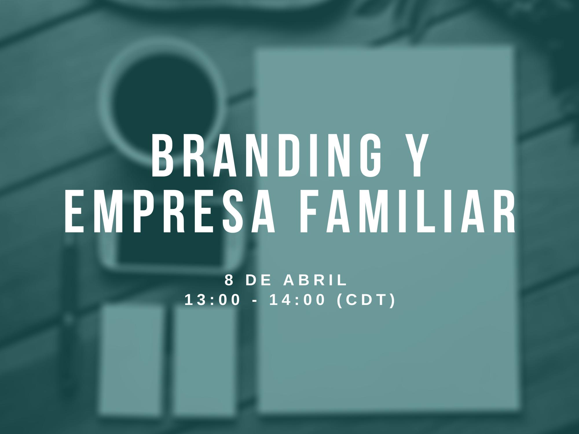 BRANDING Y EMPRESA FAMILIAR