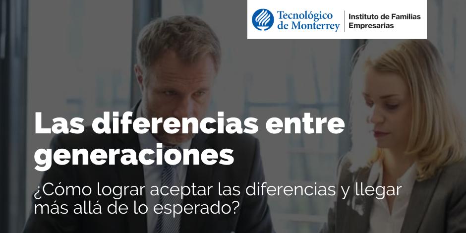 Las diferencias entre generaciones | Blog