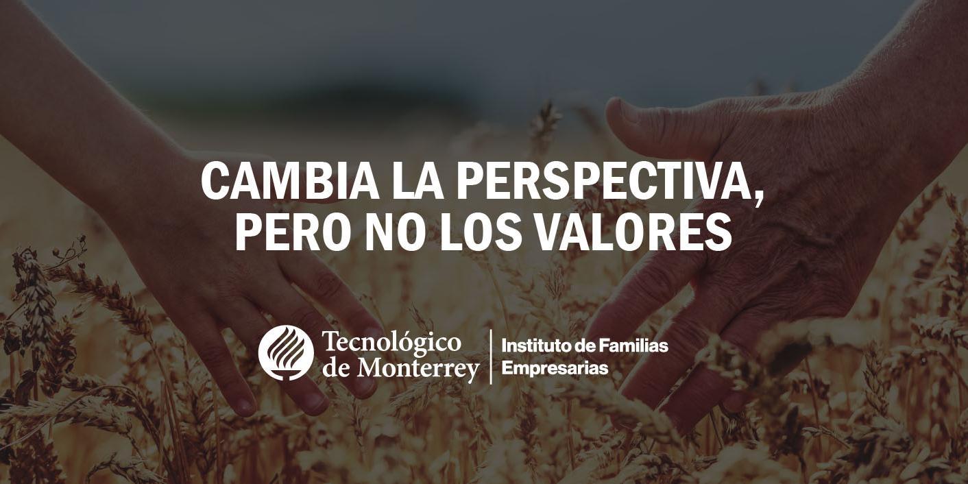 Cambia la perspectiva, pero no los valores | Blog