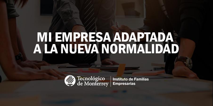 Mi empresa adaptada a la nueva normalidad | Blog